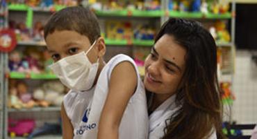 Criança e médico