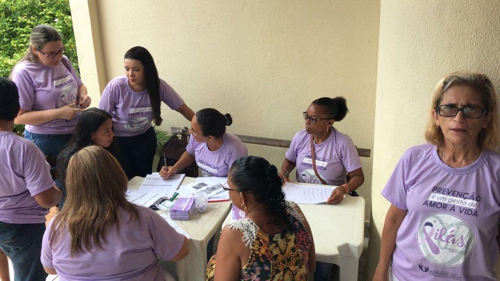 Ação nas Comunidades com o Consultório Amigo da Vida